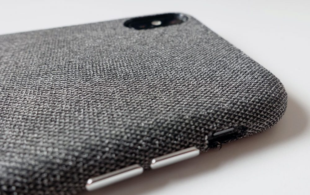 coque d'iPhone en tissus