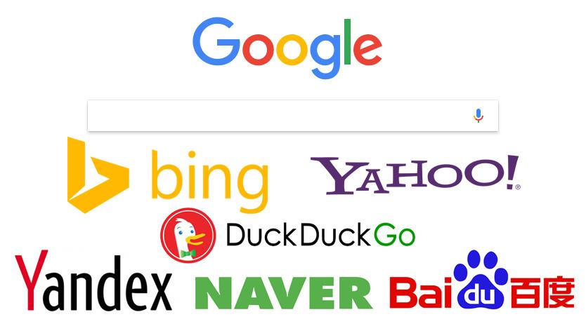 Les moteurs de recherche les plus utilisés